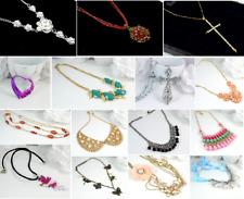Woman's Fashion Bead/ Flower/ Heart Necklace set & Long Necklaces UK SELLER