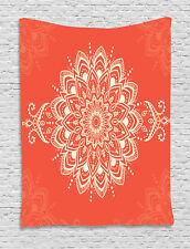 Henna Tapestry Kaleidoscopic Mandala Print Wall Hanging Decor
