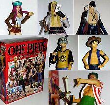 One Piece Chozokei Damashii Rookies Bandai Kid Luffy Zoro X-Drake Law esposti