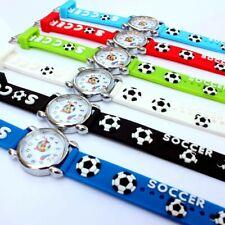 Football Watch Cartoon children kids girls boys Rubber Silicone Sports Watch A13