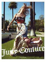 PUBLICITE 2012  JUICY COUTURE à Cannes