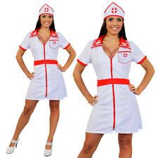 SEXY NURSE COSTUME HOSPITAL FANCY DRESS NAUGHTY UNIFORM OUTFIT S-XXL HEN