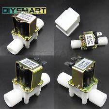 """DC12/24V AC220V 1/2"""" Electric Solenoid Valve Magnetic Water N/C AU"""