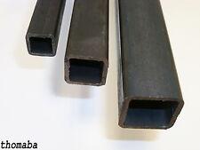 Quadratrohr Stahlrohr Hohlprofil Stahl Vierkantrohr Länge u. Abmessung wählbar