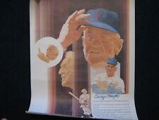 1977  Hall of Fame  Legend  CASEY  STENGEL  COKE Poster