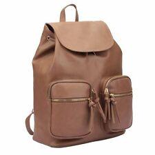 Jazzi London Ladies PU Backpack & Travel Bag Female