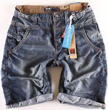 Timezone Herren  Shorts Jeans Stuad Tz 3629 indigo water wash Größe wählbar NEU