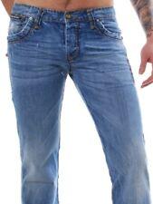 Redbridge by Cipo & Baxx Herren Vintage Jeans Hose RISE hellblau RB-154 L32&L34