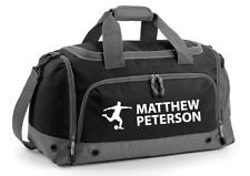 Personalised Sports Football Training Holdall Gym Kit Bag - Back to School