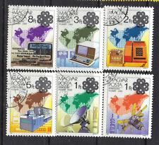 Hungary 1983 World Communication Year CNH SC ## 2806 - 2811