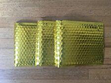 "6""x10"" Gold Metallic Bubble Mailer Padded Envelope Bags Poly Mailer UTAPE® Brand"