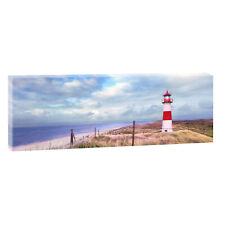 LEINWAND KUNSTDRUCK BILDER WANDBILD Panorama Landschaft Nordsee Strand &Meer 501