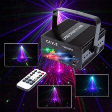 RGB Mini Laser Projector Light DJ Disco Party Music Laser Stage Lighting Effect