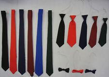 adultes enfants garçons filles ECOLE mariage uni Cravate noeud à élastique