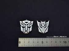 Autobot/Deceptikon Necklace stainless steel Transformers Pendant merch logo