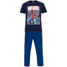 Spiderman Pyjamas | Mens Marvel Spider Man PJs | Spider-Man Pyjama Set| NEW