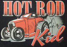 Kinder T-Shirt #730 Hod Rod KID, WILD CHILD, HOT ROD Route 66 Dragrace USA Biker