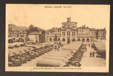 BAR-le-DUC (55) CAMIONS MILITAIRES , BAINS-DOUCHES 1922
