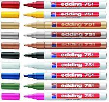 EDDING 751 MARCATORE VERNICE PAINTMARKER 2 colori a scelta
