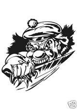 Clown Joker  Sticker Design Aufkleber 17