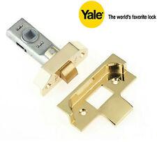 Yale Rebated Tubular Latch - PM999 Brass Finish