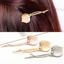 Chic Women Wedding Bridal Pearl Flower Hair Pin Clip Bobby Barrette Jewelry HOT