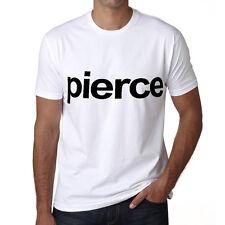 Pierce Tshirt Col Rond Homme T-shirt, Blanc