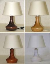 Lumetto lampada da comodino  in legno - produzione propria - made in Italy