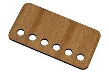 Open Style Guitar Humbucker Cover Insert - Mahogany