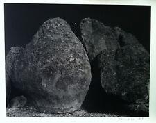 Fine Art Photography - City Of Rocks, New Mexico - S/N Silver Gelatin Print