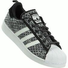 Adidas Originals Superstar GID (Glow) Baskets Homme Noir/Blanc/Vert Clair