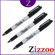 Sharpie Marqueur Permanent Stylos Set 3 pointe fine et choix de couleurs livraison gratuite