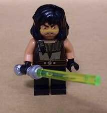 Lego Star Wars Quinlan Vos Figur mit Laserschwert Lichtschwert Waffe Wos Neu