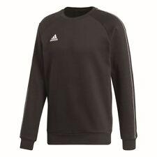 Adidas Kids Core 18 Sports Football Soccer Sweatshirt Long Sleeve Top Crew Neck