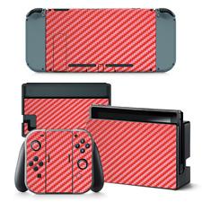 Amovible Film Autocollant Skin Wrap Housse pour Nintendo Switch Console + Manettes