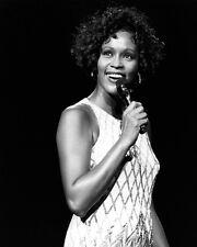 American Singer WHITNEY HOUSTON 8x10 Photo Singing Celebrity Actress Print