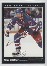 1993-94 Pinnacle #27 Mike Gartner New York Rangers Hockey Card