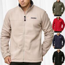 Men's Fleece Jacket Workwear Transition Full Zip Outdoor Sweat Shirt Pullover