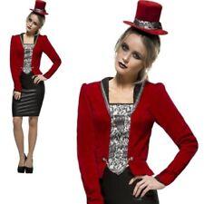 Womens Sexy Vampire Costume Ladies Vampiress Halloween Fancy Dress New