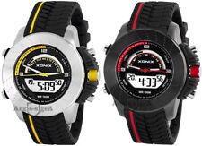 Große Xonix Armbanduhr Herren hochwetig 12/24h hypoallergen WR100m