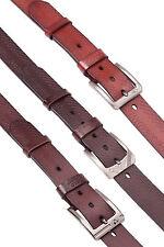 """Hombre 1.5"""" Modelo Serpiente PREMIUM Cinturón de cuero pin Metal Hebilla Formal"""