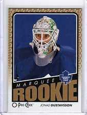 JONAS GUSTAVSSON 09/10 OPC O-Pee-Chee Update 796 ROOKIE Hockey Card