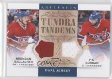 2014 Upper Deck Artifacts #TT-GS PK Subban Brendan Gallagher Montreal Canadiens
