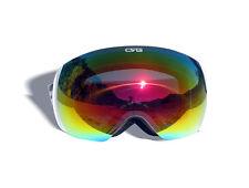 CRG Sports Ski Goggles- Frameless Snow Goggles 100% UV  Protection T815S-159