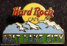 Salt Lake City LOGO MOUNTAIN Hard Rock Cafe ~ PROTO Pin