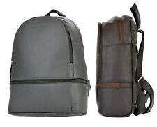 Rucksack Unisex Leder Tasche DIN-A4 Größe Damen Backpack WOODBAG Lederrucksack