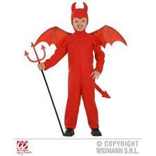 Kostüm Teufelchen Overall mit Mütze Flügel  Fasching Kostüm Teufel Teufelskostüm