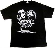 CHEECH And CHONG T-shirt Up In Smoke Marijuana Stoner Tee Shirt Adult Men New