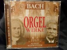 Bach-Orgelwerke - Albert Schweitzer - DCD-