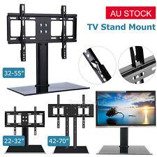 "22'' 32"" 55"" 70"" Table Top Desktop TV Stand Bracket LCD LED Plasma VESA Mount AU"